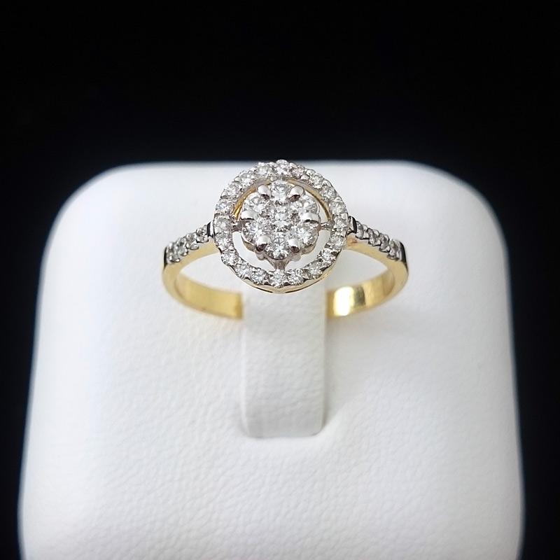 แหวนทอง เพชรล้อมเพชร
